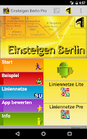 Screenshot of Einsteigen Berlin Pro