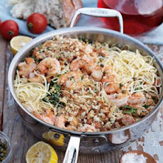 Fresh Pasta with Prawns and Lemon Oil
