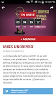 Screenshot of TNT App