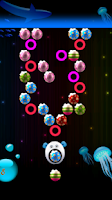 Screenshot of Glow Bubble Puzzle