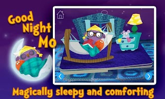 Screenshot of Goodnight Mo Bedtime Book