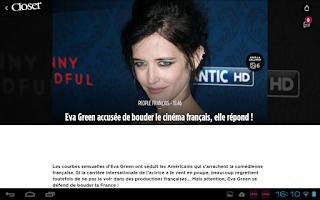 Screenshot of Closer - Actu People & News TV