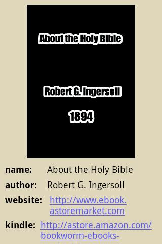About the Holy Bible