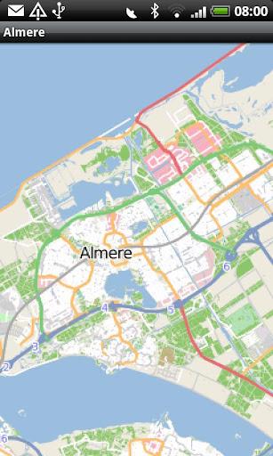 Almere Street Map