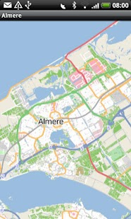Almere Street Map - screenshot