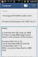 Screenshot of ABB Service