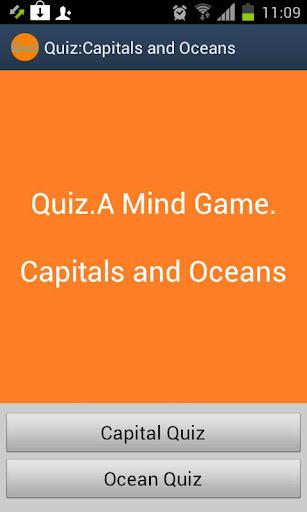 Capitals and Oceans