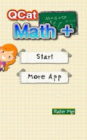 Screenshot of QCat - Kids Math Plus