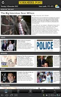 Screenshot of The Yorkshire Post