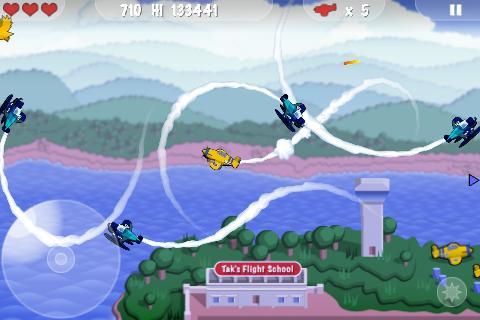 【免費街機App】MiniSquadron!-APP點子
