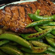 Whiskey-Marinated Steak