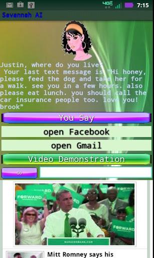 Savannah AI Virtual Assistant
