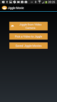 Screenshot of Jiggle Movie, Fun Video Editor