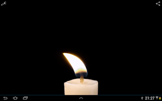 Screenshot of Candle Live Wallpaper