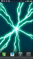 Screenshot of Plasma Disk live wallpaper