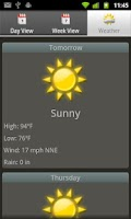 Screenshot of SolunarCast - Outdoor Forecast