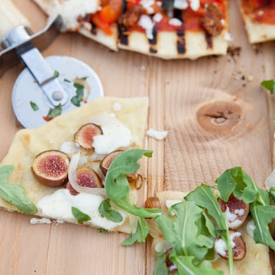 Fig, Caramelized Onion & Goat Cheese Pizza