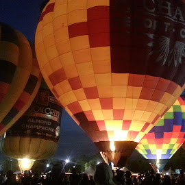 Balloon Glow. by Lauri Miller - Transportation Other