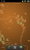 Screenshot of Ivy Leaf Pro Live Wallpaper