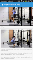 Screenshot of Football Strength Training