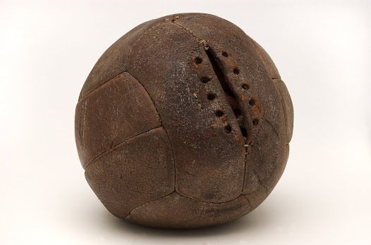 """""""The arguments were so rancorous that they could only be settled by having a ball from each team; one from Argentina and the other from Uruguay..."""" David Goldblatt, Football Writer"""