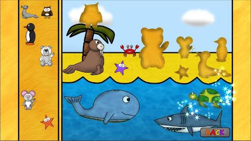 儿童动物游戏:谜语