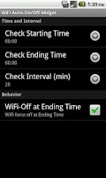 Screenshot of WiFi Auto-On/Off