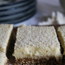 Lemon Bars With Coconut