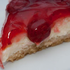 Strawberry-Topped Cheesecake with Graham Cracker Crust