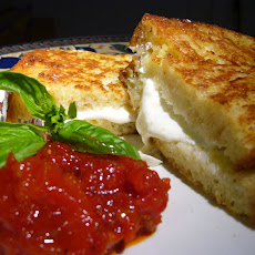 Mozzarella in Carrozza with Sundried Tomato and Roasted Red Pepper Jam