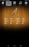 Screenshot of Guitar Jam Tracks Scales Buddy