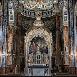Basilica Alter by Tony Roma - Buildings & Architecture Places of Worship ( milwaukee, church, basilica of st josaphat,  )