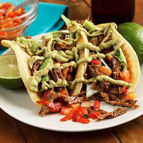 Slow-Cooked Spicy Shredded Beef Tacos