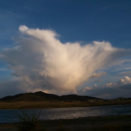 brewing storm, south colorado by Ilona Williams - Landscapes Cloud Formations