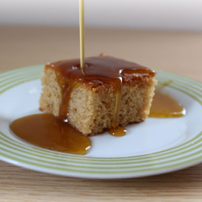 Ginger Sticky Toffee Pudding