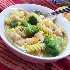 25-Minute Chicken and Noodles