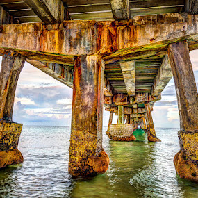 Under the Pier by Matthew Haines - Buildings & Architecture Bridges & Suspended Structures ( bridge,  )