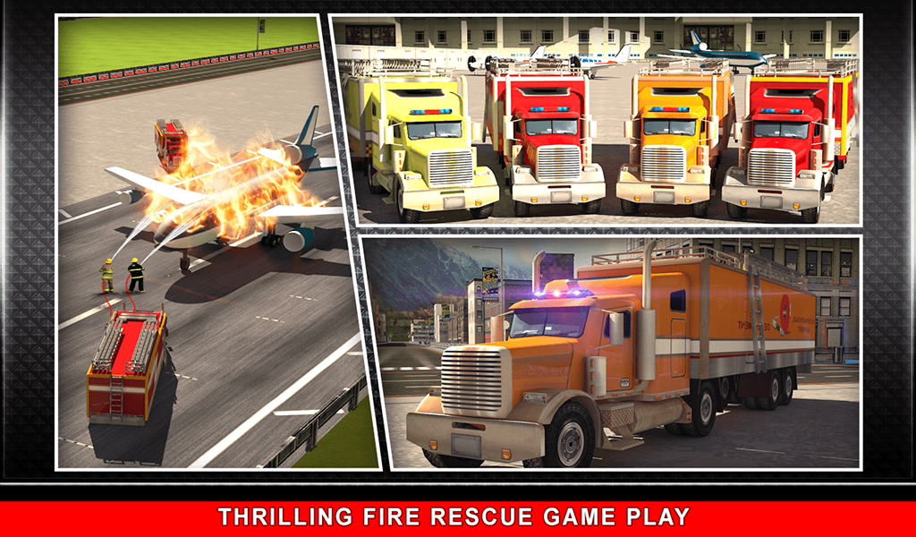 911 Rescue Fire Truck 3D Sim Screenshot 14