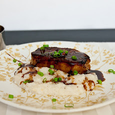 Spiced Pork Chops with Agrodolce Sauce