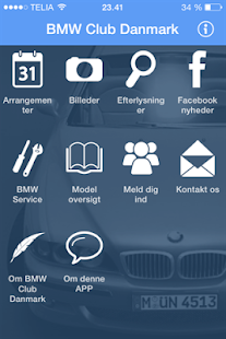 BMW Club Danmark - screenshot