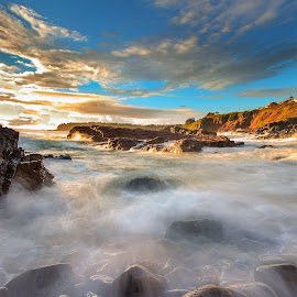 SPLASH by Surya Fajri - Landscapes Waterscapes ( canon, kiama, cathedralrocks, australia, nsw )