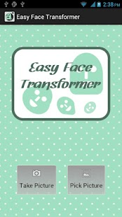 Easy Face Transformer - screenshot