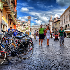 Verona by Cristian Peša - City,  Street & Park  Street Scenes