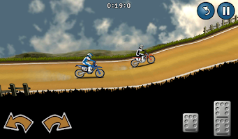 Screenshot of Motocross Racing