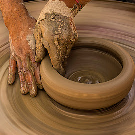 Art of pottery.. by Rakesh Syal - Artistic Objects Other Objects