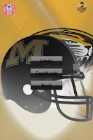 Screenshot of Missouri Tigers Gameday