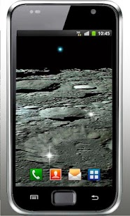 Moon Surface HQ live wallpaper - screenshot
