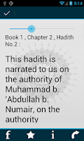 Screenshot of Sahih Muslim English