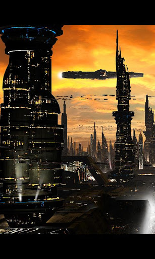 Futuristic City Live Wallpaper