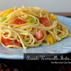 Ranch Vermicelli Pasta Salad